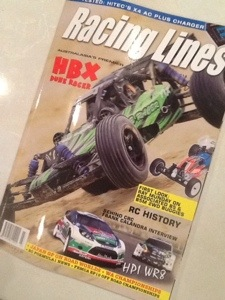 Racing Lines March Edition is on ShelvesSoon