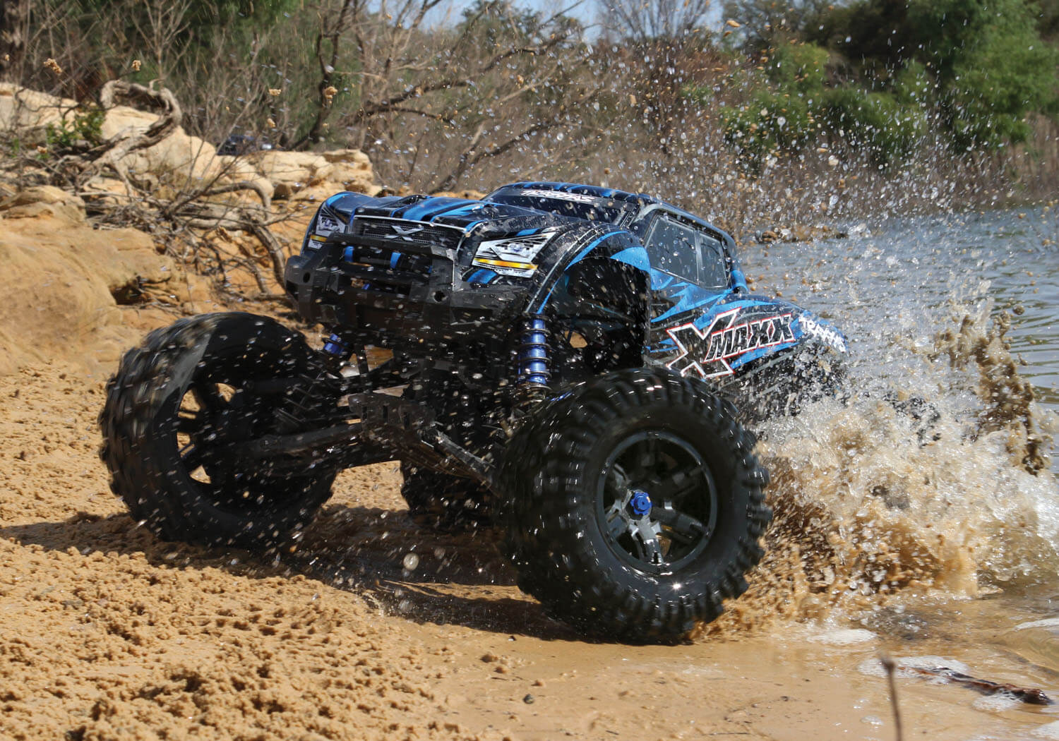 fast rc trucks for sale with Traxxas X Maxx The Lowdown on Watch furthermore Image Hydraulic Loading R s For Trucks in addition 1110434 the 2017 Ford Raptor Merges Awd And 4wd besides Traxxas X Maxx The Lowdown together with 604 Mud Thrashers 1 9 Scale 1x Tires.
