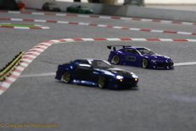 AWD final: Noel Gettingby (FC3S RX7) vs Scott Hobbs (S15 Silvia), Photo: Craig Jacka