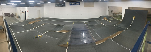 Obligatory full-screen Panoramic view of the off road track