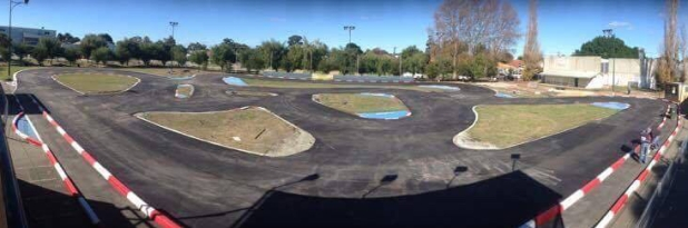 West Coast Model RC throws down fresh asphalt